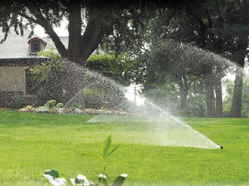 Impianti di irrigazione automatici for Progettare un impianto di irrigazione